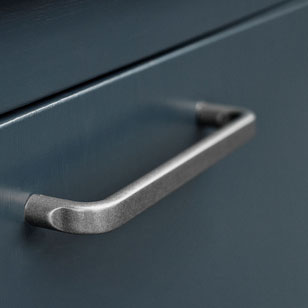 BASE Cabinet Handle - CC 320mm - Antique Grey Finish