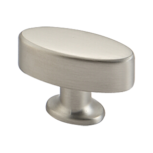 Cabinet Knob - Matt Satin Nickel Finish