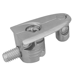 Elefant Connecting Fitting - 18mm - Zinc Alloy Nickel Plated Finish