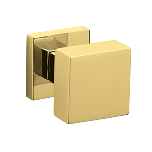 DIANA Central Door Knob - Brass - Super Polished Gold Finish