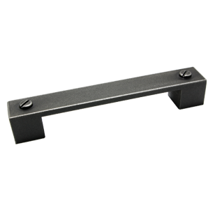 Cabinet Handle - Classic aluminum vintage Finish - 164mm