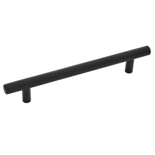 Quilt Pull - Cabinet Handle - 160mm - Anodized Brushed Black Finish