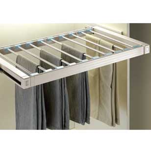 High End Soft Close Trouser Rack - 900mm