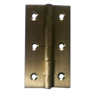 Hinges - 3 x 3/4 x 3/4 Inch - Antique Finish - Brass Material