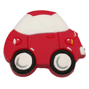 Red & White Car Cabinet Knob