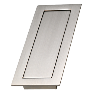 SLIDE - Cabinet Flush Handle - Bright Chrome Finish - 32mm