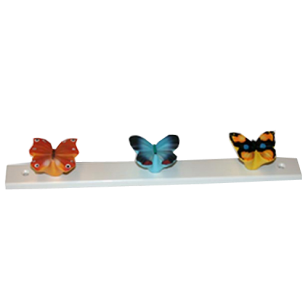 Multicolour Butterfly Hook