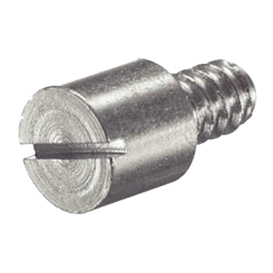 EURO Bolt with Plinth Clip - Dia - 10 - Steel Zinc Plated Finish