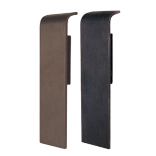 Door Pull Handle - 350mm - Brown & Matt Black