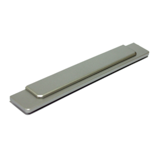 Cabinet Handle - 150mm - Bright Chrome with White Aluminum Finish