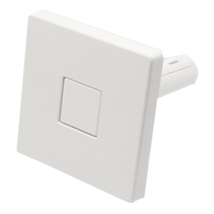 Push Square Hook - White Colour