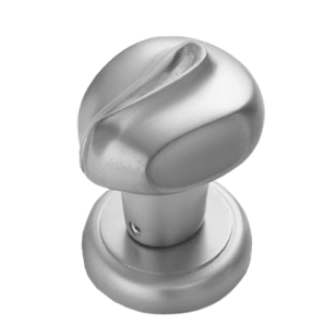 Nodo Door Knob - Chrome Plated Finish