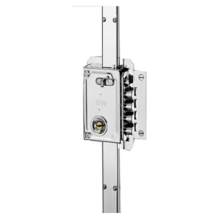 Multipoint Door Lock - S - 90 AP - Chrome Plated - Right Hand
