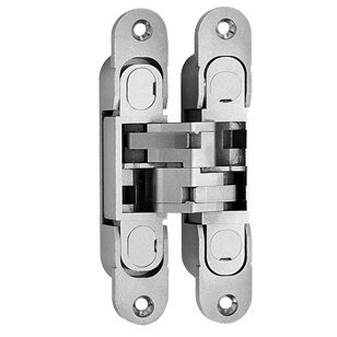 concealed Door Hinge - Nickel Plated Finish - 134X24mm