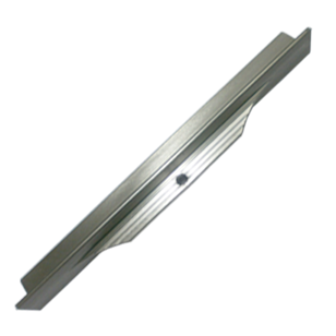 INSIDE Cabinet Profile Handle - 145mm - Inox Look Finish