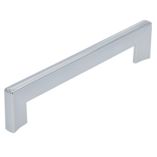 Cabinet Handle - 160mm - Bright Chrome Finish