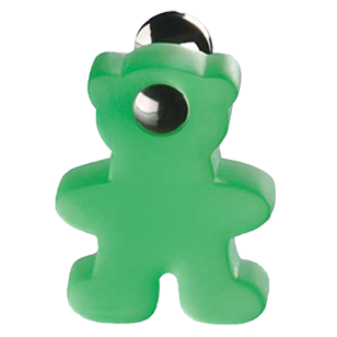 Bear Swiveling Cabinet Knob Green Colour