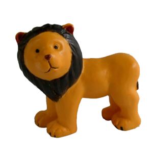 Kids Lion Cabinet Knob in Yellow Colour