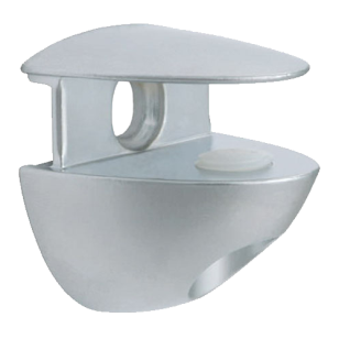 Pack Cobrone Glass Shelf Support - 10mm