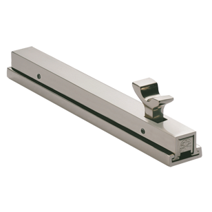 Square Tower Bolt Lock System - 300mm - Brush Steel Finish