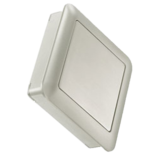 DUET- Cabinet Flush Handle - Bright Chrome Finish - 75mm
