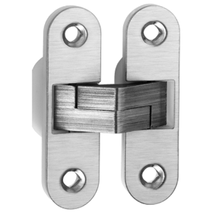 Concealed Door Hinge - 89x25mm - Stainless Steel Finish