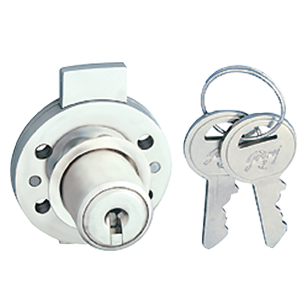 Multi Purpose Round Lock - Satin Nickel