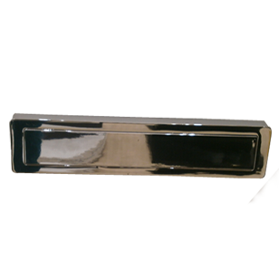 Cabinet Flush Handle - 176mm -  Chrome Plated Finish