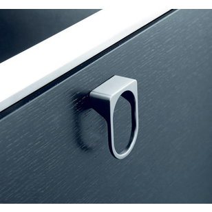 HOLE Cabinet Handle - Inox Look