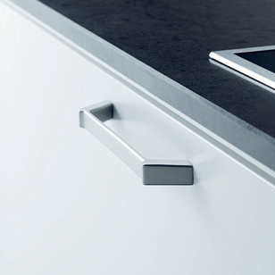 ZAR Cabinet Handle - 160mm - Inox Look Modern Design