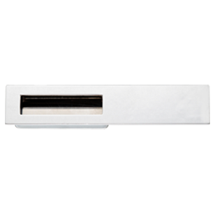 Modern Cabinet Handle - 96mm - Polished Chrome Finish