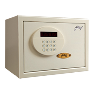 TAURUS - Electronic Safe Motorised Locking Mechanism - Dimensions (H x W x D) - 250x350x250mm - Ivory Colour