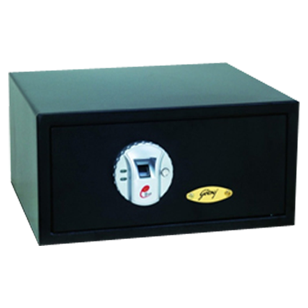 E-BIO - Security At Your Fingerprint Safe - Dimensions (H x W x D) - 200x420x370mm - Black Colour