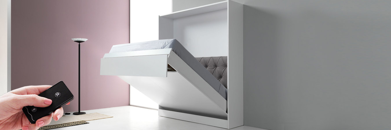Folding Bed Automatic : Buy automatic folding bed double with remote control