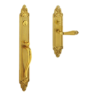 New York Door Entrance Set - Old Gold F