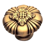 Tiziano Cabinet Knob - 42mm - Old Gold Finish