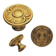Giotto Cabinet Knob - 28mm - Old Gold F