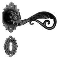 Door Lever Handle with Rosett