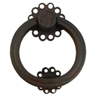 Door Knocker - Bronze Black F