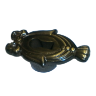 Escutcheon Key Hole - Shaded Bronze Fin