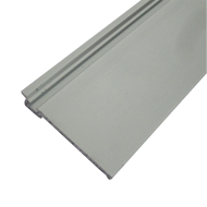 Silver Cover Profile - Length 4mtr