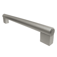 Aluminium Bar Cabinet Handle - Matt Ano
