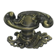 POMOLO Door Knob - 76X40mm - Antique Bronze Finish