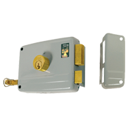 RIM Door Lock BKS 70mm Right Hand - Loo