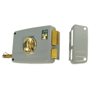 RIM Door Lock BKS 60mm Right Hand - Loo