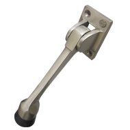 Heavy Square Door Stopper - Stainless S