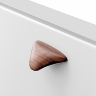 MANTA MINI Cabinet Knob - Wood Oak lacq.  - 32mm