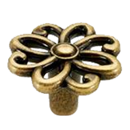 Cabinet Knob - 36mm - Antique Bronze Finish