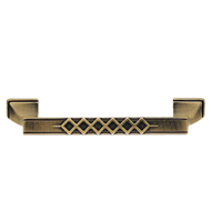 Classical Cabinet Handle -  128mm - Antique Bronze Finish