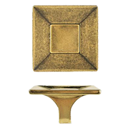 Cabinet Knob -  32mm - Antique Bronze Finish